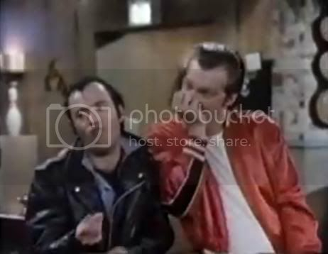 Lenny and Squiggy palm bite Pictures, Images and Photos